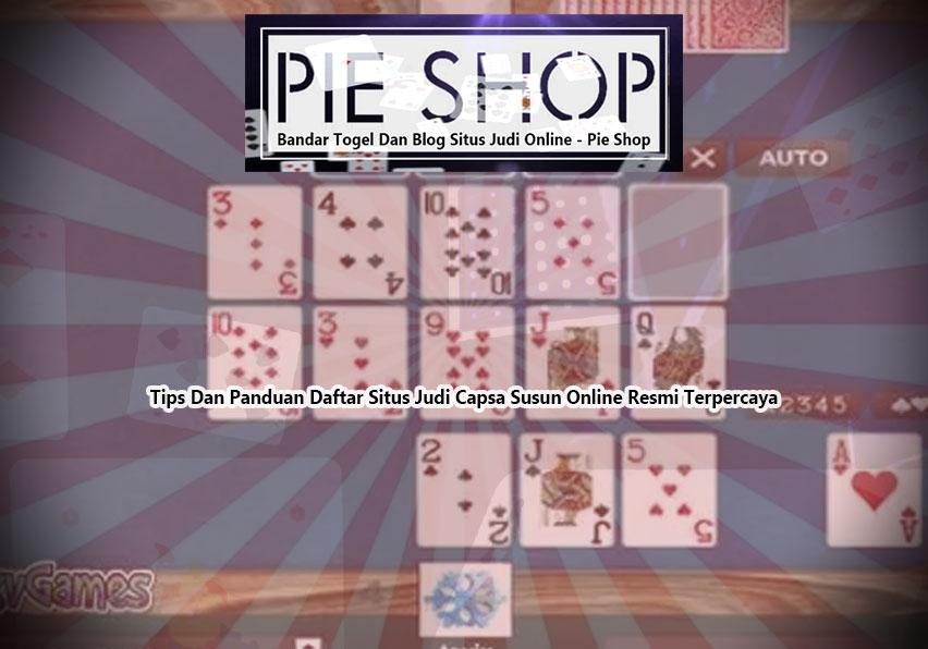 Capsa Susun - Bandar Togel Dan Blog Situs Judi Online | Pie Shop